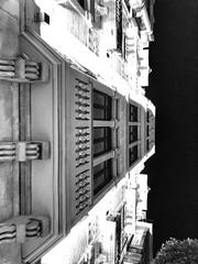'La arquitectura es el juego sabio, correcto y magnífico de los volúmenes bajo la luz' Le Corbusier (coralpin) Tags: cielo sky iphonex perfect luz light noche night edificio building build landscape byw bnw byn shot old arquitecture design art diseño construccion asturias oviedo