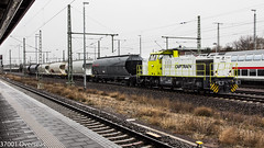 Captrain 275 120 at Magdeburg Hbf (37001 overseas) Tags: captrain stasfurt bitterfeld magdeburg 275120 2751204 ermewa uacs