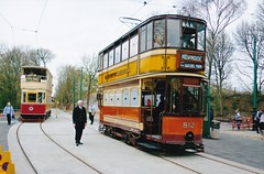 Glasgow Corporation Transport No. 812, at Crich Tramway Village (huddlestoneja8) Tags: tram crich