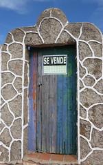 Tür zum Himmel...- door to heaven... (Anke knipst) Tags: tür door menorca spain zuverkaufen forsale sevende bunt colourful