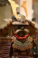 Armour (Ni Mai Do Gusoku) (Bri_J) Tags: royalarmouries leeds westyorkshire uk museum militarymuseum yorkshire nikon d7500 armour nimaidogusoku japanesearmour samurai moustache