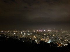 Lively city. (ericalixd) Tags: hkg hk hongkong feingoshan mountain citylights city lights