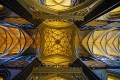 Transept vault of Salisbury Cathedral, UK (Andrey Sulitskiy) Tags: uk salisbury wiltshire england