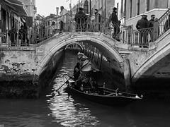 """Genere """"street"""" veneziano (GiulioBig) Tags: acqua canali città street mare barche stile blackwhite"""