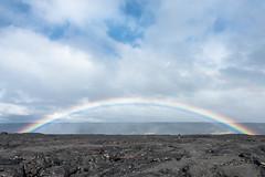 Hawaii Volcanoes National Park (drumlan) Tags: hawaii rainbow lava basalt rock stone flow volcano nationalparks hawaiivolcanoesnationalpark hike hiker