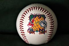 COUNTDOWN TO OPENING DAY: 59 DAYS (MIKECNY) Tags: baseball mlb worldseries 1997 fallclassic indians marlins memorabilia florida cleveland