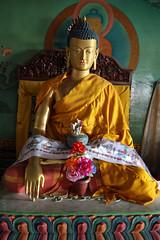 265. Interior, Nagi Gompa (Nunnery), Shivapuri Nagarjun National Park, Kathmandu, Bagmati State, Nepal (Jay Ramji's Travels) Tags: nepal kathmandu shivapurinagarjunnationalpark bagmatistate northkathmanduvalley nagigompa nunnery buddhism buddhist religious placeofworship statue buddha
