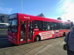 WX06 OMU (Woolfie Hills) Tags: cymru wx06 omu dart advert bus ticket deals swansea first