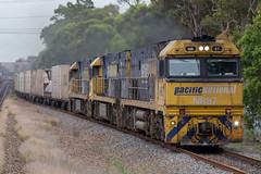 5BM4 @ Metford (Electric Motive) Tags: train trains trainspotting locomotive loco hunter valley bm4 5bm4