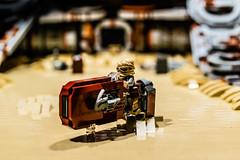 Rey's Home Details (speedyhead79) Tags: lego starwars moc jakku rey atat afol theforceawakens episode7 architektur münster sommer