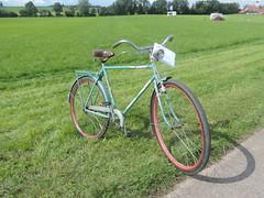 Drahtesel (wire donkey) (pferdeschorschi) Tags: eutenhausen bavaria bicycle drahtesel