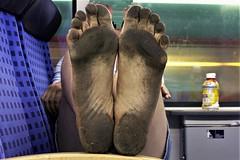 dirty city feet 195 (dirtyfeet6811) Tags: feet soles barefoot dirtyfeet dirtysoles blacksoles cityfeet