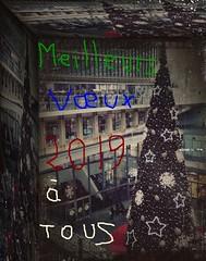 MEILLEURS VOEUX 2019 A TOUS (marsupilami92) Tags: france frankreich îledefrance paris capitale 1erarrondissement 75 sapindenoel vœux infinitexposure