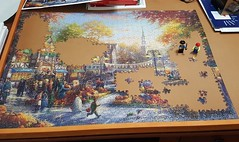 Halloween Puzzle Progress #2 (a100tim) Tags: halloween puzzle captainron