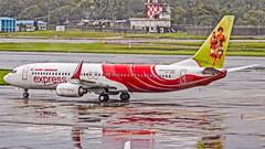 Air India Express Boeing B737-800 VT-AYD Mumbai (VABB/BOM) (Aiel) Tags: airindiaexpress boeing b737 b737800 vtayd mumbai canon60d
