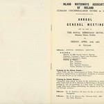 IWAI 1965 AGM Agenda & Reports DA