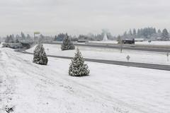 Snow on I-5 in the Salem-Keizer area (OregonDOT) Tags: winter snow snowstorm oregondot i5 willamettevalley salem