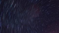 Leoniden - by star trails Aufnahmen alle 6 sec ein Foto. 20 Minuten Belichtung. (eagle1effi) Tags: star trails aufnahmen alle 6 sec ein foto 20 minuten belichtung canon powershot g7 x mark ii canonpowershotg7xmarkii