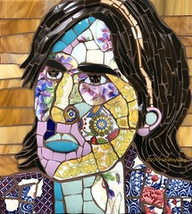 Anna (Gila Mosaics n'stuff) Tags: portrait art artist picassiette gilamosaics mosaic mao mosaicartsonline jkpp portraitparty