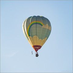 Rainbow Balloon (mikeyp2000) Tags: air flying fly rainbow balloon hotairballoon hot