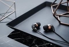 Beautiful In-Ear Earbuds with Remote and Mic (Black Marble Rose Gold) by Casetify Case (katalaynet) Tags: follow happy me fun photooftheday beautiful love friends