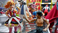 Choreography Needed (MayorPaprika) Tags: lgv20 lgvs995 112 toy story paprihaven action figure diorama set custom shfiguarts freyawion brucelee michaeljackson dragon smoothcriminal