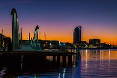 Aurora Maremagnum (bienve958) Tags: amanecer hdr litoralbcn sunrise bluehour paisaje cityscape city urban aurora