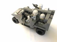 Warthog transport left rear (dreki.bryni) Tags: afol halo moc lego