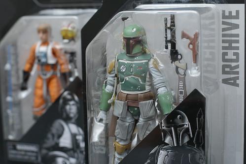Boba Fett and Luke Skywalker
