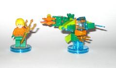 lego 71237 lego dimensions fun pack dc comics aquaman minifigure and aqua watercraft e (tjparkside) Tags: 71237 aquaman watercraft trident aqua seven seas speeder fire lego dimensions fun pack 3 1 minifigure minifigures misb 2016 videogame software dc comics