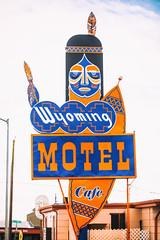Wyoming Motel (Thomas Hawk) Tags: america cheyenne usa unitedstatesofamerica unitedstates wyoming wyomingmotel indian motel neon neonsign us fav10 fav25 fav50