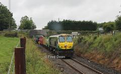 Irish Rail 224 at Manulla Junction. (Fred Dean Jnr) Tags: iarnrodeireann irishrail generalmotors 201class locomotive 224 manulla mayo manullajunctionmayo july2014 iwt mgwr midlandgreatwesternrailway freighttrain electromotivedivision