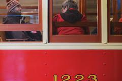 Coach (Photo Alan) Tags: vancouver canada passengercar coach leica leicam10 leica90mmf28 red people car