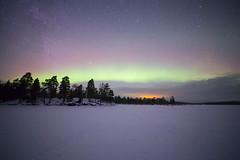 aurora 9.1.2019 (Hotel Korpikartano) Tags: korpikartanofi hotelkorpikartano menesjarvi northernlights auroraborealis inarilapland laplandfinland finnishlapland finland revontulet polarnight winter