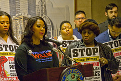 Alexandria Willis for the 3rd Ward City of Chicago Aldermanic Candidates Press Conference to Support Civilian Police Accountability Council Chicago Illinois 1-9-19 5556 (www.cemillerphotography.com) Tags: cops brutality shootings killings rekiaboyd laquanmcdonald oversight reform corruption excessiveforce expensivelawsuits policeacademy
