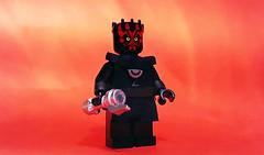 Darth Maul (Leader of the Crimson Dawn) (OB1 KnoB) Tags: lego star wars minifigure darth maul leader crimson dawn aube écarlate solo story han qira dryden vos shadow collective