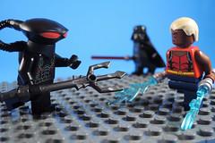 I am your Father (-Metarix-) Tags: lego super hero minifig dc comics comic aqualad black manta darth vader father son teen titans