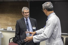 Drew Gaffney, MD - Flexner Deans' Lecture Series (VUmedicine) Tags: people doctor professor student event lecture research