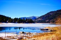 (MJGhajar) Tags: boulderbay icy winter lake bigbearlake