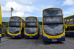 Dublin Bus SG366 172-D-23033 - SG200 161-D-46483 - SG125 152-D-17714 (Will Swain) Tags: dublin clontarf depot 16th june 2018 bus buses transport travel uk britain vehicle vehicles county country ireland irish city centre south southern capital sg366 172d23033 sg200 161d46483 sg125 152d17714 sg 366 125 200