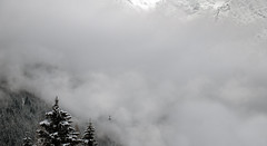 Chamonix Winter Wonderland (Capchure.ch) Tags: chamonix snow winter valley ski trees forest france alps alpine nature photography landscape