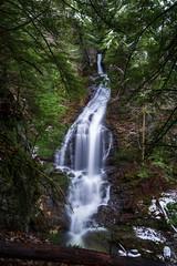Moss Glen Falls post Snowfall - Vermont, 2018 (Dino Sokocevic) Tags: stowe outdoors snow snowy winter nature newengland vt nikon nikonusa longexposure tamron tamronusa d610 ultrawide