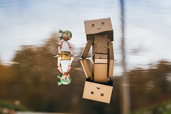 In it Together (PathToPhoto) Tags: toy yotsuba danbo