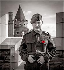 Canadian WW2 Uniform (Rodrick Dale) Tags: canadian ww2 uniform solider casa loma portrait canada toronto ontario poppy
