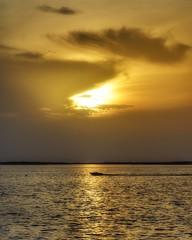 "Series: Punta Gorda - ""Cruising"" (Imperfectly Still) Tags: puntagorda florida vacation ocean takemeback cruising sunset boat cloudysky goodvibes photography photooftheday photographyislifee fridaymood"
