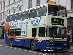 Dublin Bus RA311 (96D311). (Fred Dean Jnr) Tags: april2005 dublin dublinbus busathacliath dublinbusbluecreamlivery volvo olympian alexander r dublinbusroute78a ra311 96d311 astonquaydublin croad p324swc p268swc
