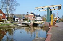 Brücke in Onderdendam (antje whv) Tags: brücken bridges klappbrücken holland niederlande netherlands nederland onderdendam