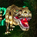 Espèces en voie d'illumination - premier festival des lumières du Jardin des Plantes à Paris