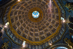 Siena Cathedral Ceiling (i-lenticularis) Tags: siena tuscany fdts35f28 sonya7r italy c1pro12 altlens manuallens sienacathedral architecture art culture heritage patrimoine