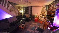 Our Christmas Eve (AreKev) Tags: ourchristmasroom christmasroom christmas tree xmas 2018 christmastree night lights festive christmastime frontroom livingroom living room ourhouse bristol england uk nikond7100 nikon d7100 sigma 1020mm 1020mmf456exdchsm